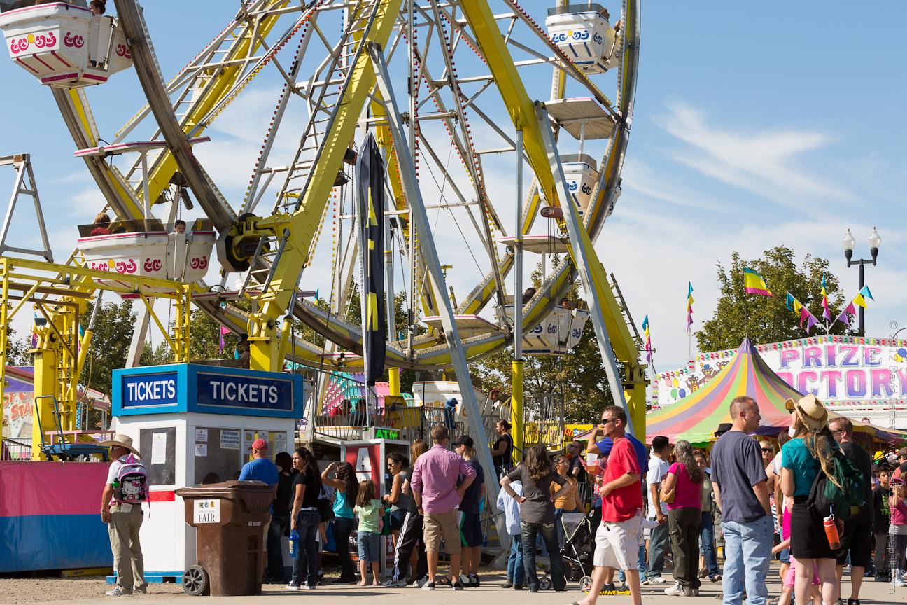 the beautiful and fun utah state fair